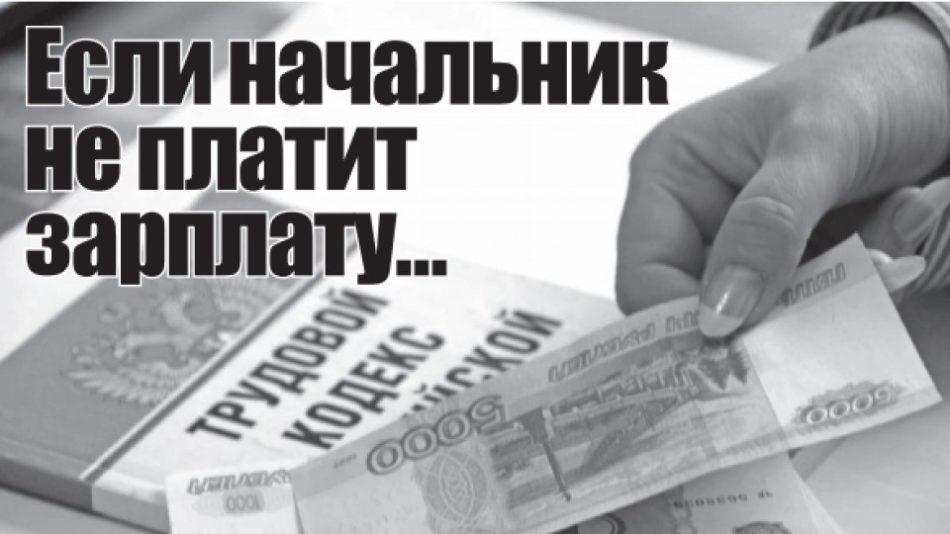 Куда звонить если задерживают зарплату горячая линия в москве